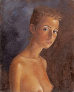 Short Haired Nude bust